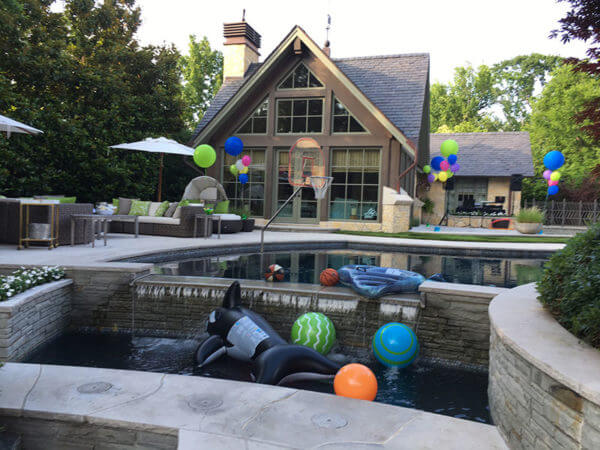 Nicholson party